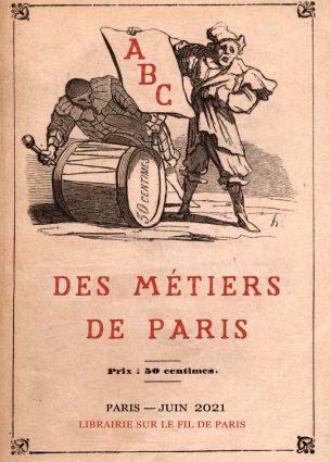 Catalogue Abc des métiers de Paris, librairie Sur le fil de Paris