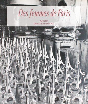Des femmes de Paris - catalogue de livres et documents anciens - Librairie sur le fil de Paris 2021